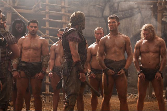 Spartacus : Le sang des gladiateurs : photo Liam McIntyre, Manu Bennett