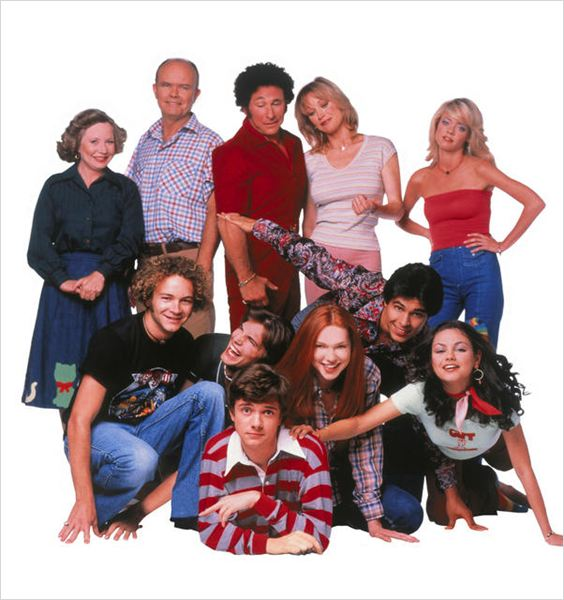 That '70s Show : photo Ashton Kutcher, Danny Masterson, Debra Jo Rupp, Don Stark, Kurtwood Smith