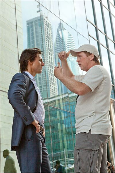 Mission : Impossible - Protocole fant&#244;me : photo Brad Bird, Tom Cruise