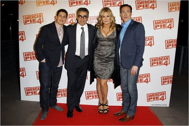 American Pie 4 : photo Chris Klein, Eugene Levy, Jason Biggs, Jennifer Coolidge
