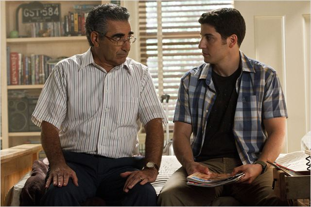 American Pie 4 : photo Eugene Levy, Jason Biggs