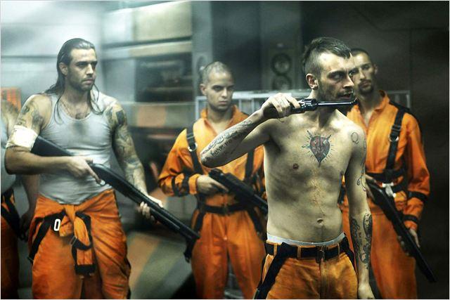 Lock Out : Photo James Mather, Joseph Gilgun, Stephen St. Leger