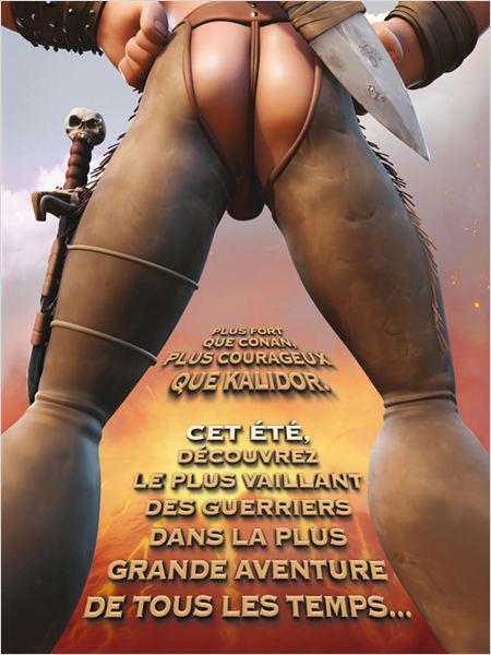 Ronal le Barbare : affiche