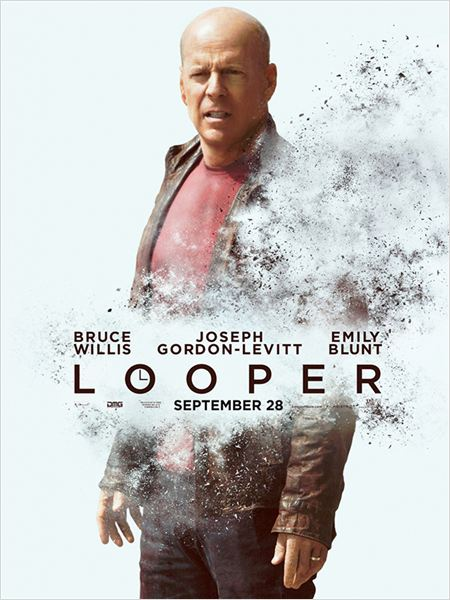 Looper : Affiche Bruce Willis