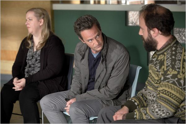 Photo Brett Gelman, Matthew Perry, Sarah Baker