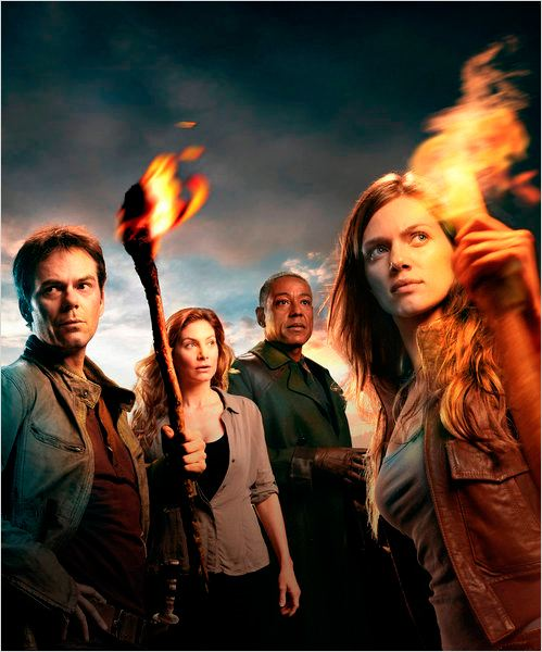 Photo Billy Burke, Elizabeth Mitchell, Giancarlo Esposito, Tracy Spiridakos