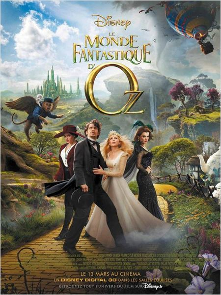 Le Monde fantastique d'Oz FRENCH [HDRip]