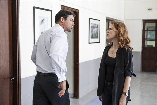 Zero Dark Thirty : photo Jessica Chastain, Kyle Chandler