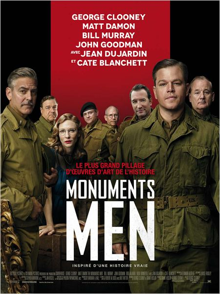 Monuments Men [BDRip] [MULTI]