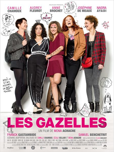 Les Gazelles [BRRiP] [MULTI]