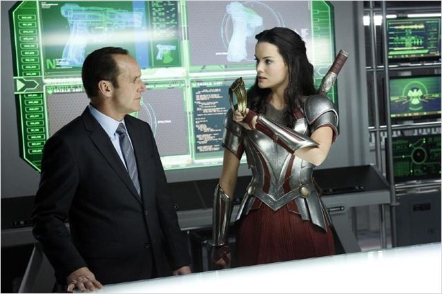 Photo Clark Gregg, Jaimie Alexander