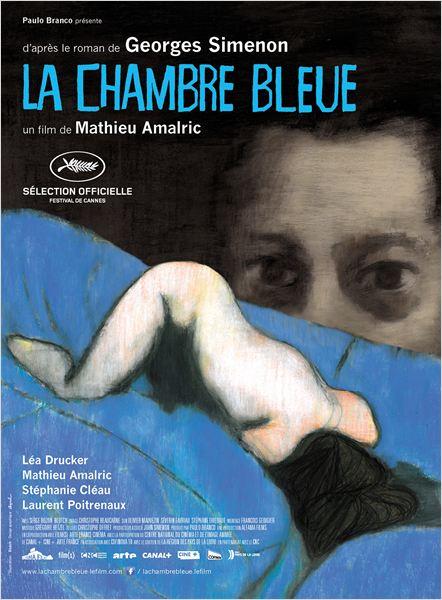 La Chambre bleue : Affiche
