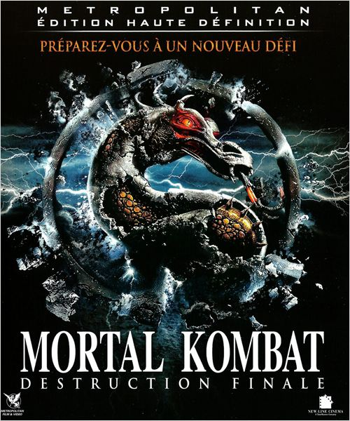 Mortal Kombat, destruction finale