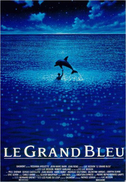 Le grand bleu : Affiche
