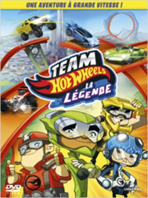 Team Hot Wheels : La légende [BDRip] [MULTI]
