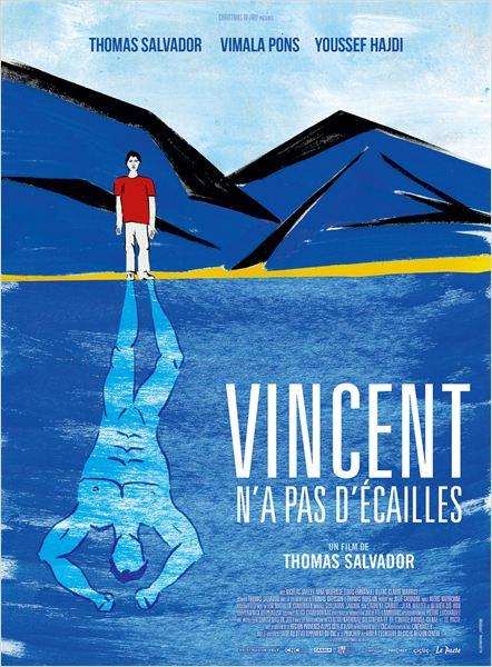 Vincent n'a pas d'écailles : Affiche