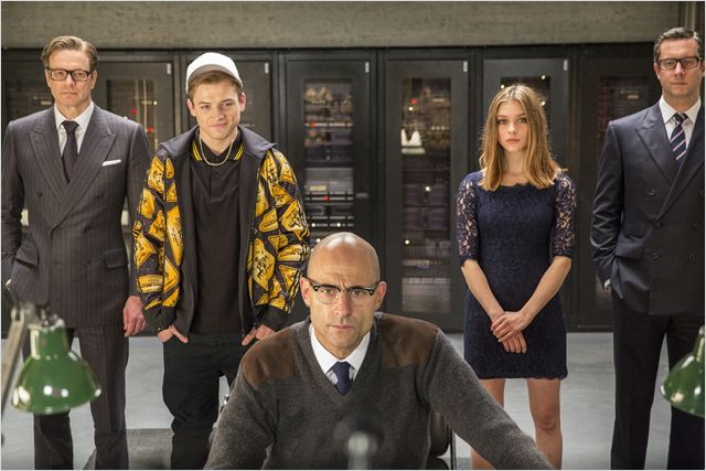 Kingsman : Services secrets : Photo Colin Firth, Mark Strong, Sophie Cookson, Taron Egerton