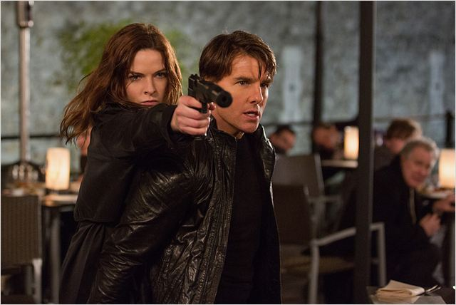 Mission: Impossible - Rogue Nation : Photo Rebecca Ferguson, Tom Cruise