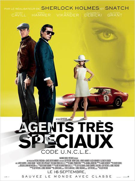 Agents très spéciaux - Code U.N.C.L.E : Affiche