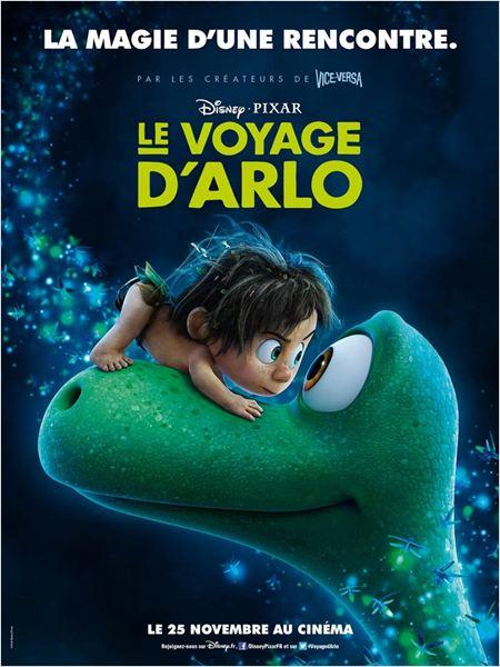 Le Voyage d'Arlo : Affiche
