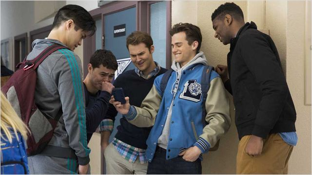 Photo Brandon Flynn, Justin Prentice, Ross Butler