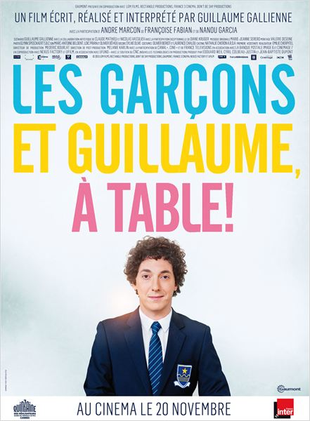 Les Garçons et Guillaume, à table ! |FRENCH| [BDRip]