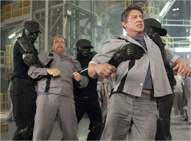 Evasion : Photo Arnold Schwarzenegger, Sylvester Stallone