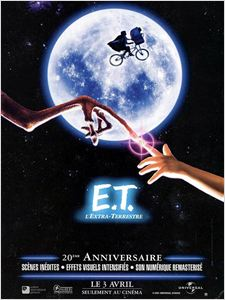 E.T. l'extra-terrestre affiche