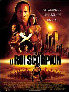 Le Roi Scorpion affiche