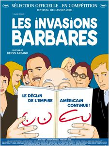 Les invasions barbares affiche