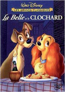 La Belle et le Clochard - 1955 affiche