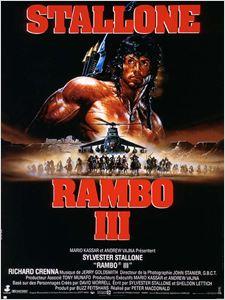 Rambo III affiche