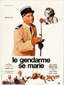 Le Gendarme se marie affiche
