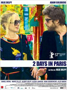 2 Days in Paris affiche