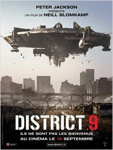District 9 affiche