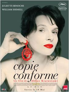 Copie conforme (  Copie conforme  ) affiche