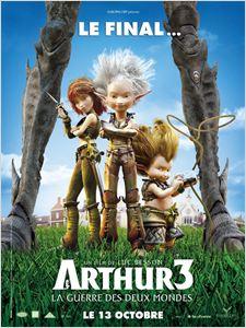 Arthur 3 La Guerre des Deux Mondes affiche