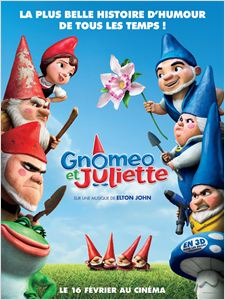 Gnomeo et Juliette affiche