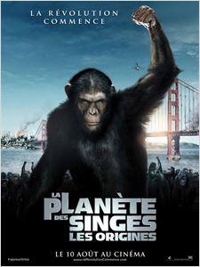 La Planète des singes : les origines affiche
