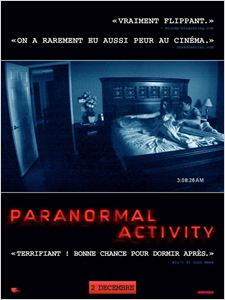 Paranormal Activity 2007 affiche