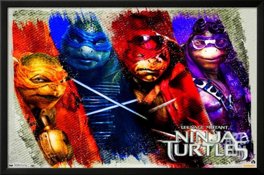 Nouvelles affiches ninja turtles ninja turtles une - Mechant tortue ninja ...