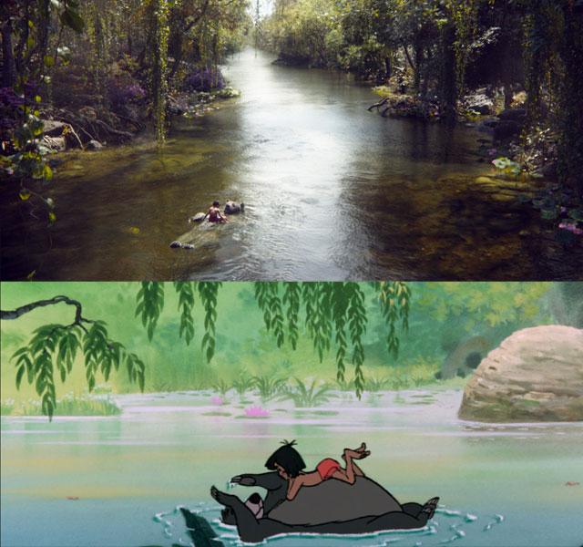en bonus mowgli descend la rivi re sur le ventre de baloo le livre de la jungle 10 images. Black Bedroom Furniture Sets. Home Design Ideas