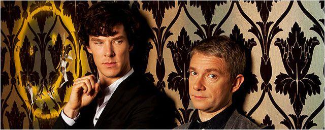 """Coup d'envoi du tournage de la saison 3 de """"Sherlock"""" et premier titre d'épisode révélé"""