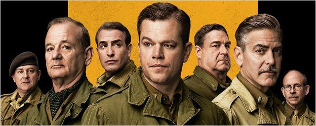"""The Monuments Men"" : Matt Damon, Clooney, Bill Murray et Jean Dujardin s'affichent !"