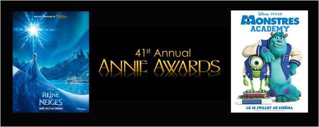 """Annie Awards 2014 : """"La Reine des Neiges"""" et """"Monstres Academy"""" en tête des nominations !"""