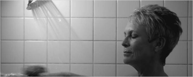 Scream Queens : Jamie Lee Curtis rejoue la scène culte de la douche dans Psychose !