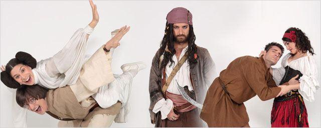 De Star Wars à Jack Sparrow, Nos chers voisins déguisés pour fêter le Nouvel An...