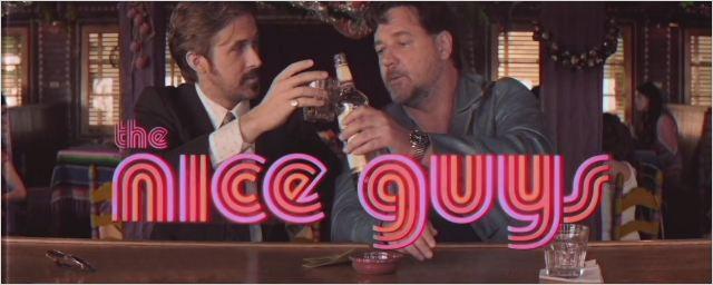 Cannes 2016 – The Nice Guys : découvrez la bande-annonce… rétro !