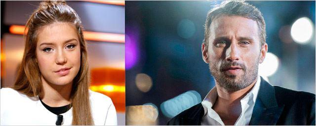 Adèle Exarchopoulos et Matthias Schoenaerts : premières photos romantiques sur le tournage du Fidèle