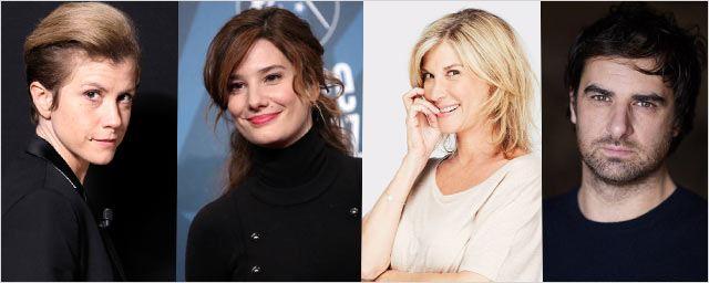 Océanerosemarie, Alice Pol, Michèle Laroque et Grégory Montel dans Embrasse-moi !